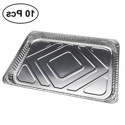 10Pcs Disposable BBQ Drip <font><b>Pan</b></font> Tray <font