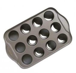 Tosnail 12 Cavity Mini Cheesecake Pan with 24 Pieces Removab