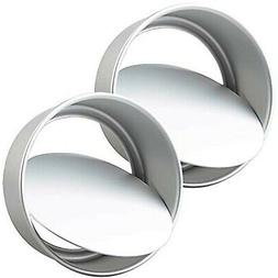 Tosnail 2 Pack 8-Inch Aluminum Round Cake Pan with Removable