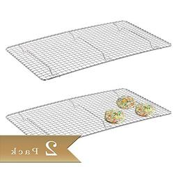 TrueCraftware 2 - Chrome Plated Wire Pan Grate - Cooling Rac