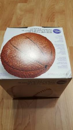 Wilton 3-D 6 Inch Diameter Sports Ball Cake Pan Set NWOTs