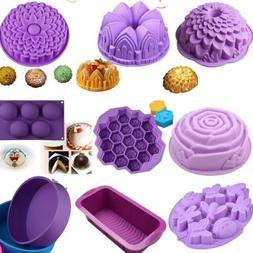 30pcs Silicone DIY Cake Pan Mould Bread Pizza Lasagna Baking