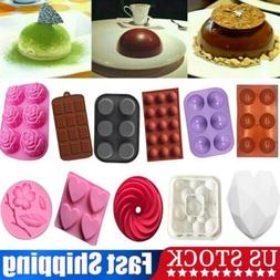 3D Half Sphere Ball Pudding Chocolate Mold Cake Decor Muffin