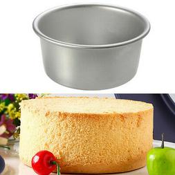 "4""-10"" Alloy Nonstick Round Cake Pan Baking Mould Removable"