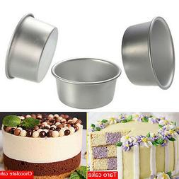 4/5/6/8/9'' Aluminum Alloy Non-stick Round Cake Baking Mould