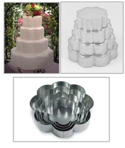 EURO TINS Professional 4 Tier Petal Multilayer Wedding Anniv