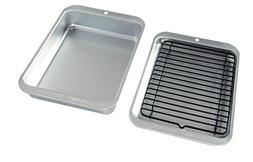 Nordic Ware 43290 3 Piece Naturals Compact Grill and Bake Se