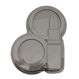 CK Products 49-5404 Plastic Lipstick Compact Cake Pan, White