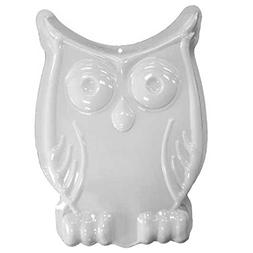 CK Products 49-8201 Plastic Owl Cake Pan, White