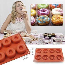 8Cell Doughnut Pan Baking Cake Cookie Mould Chocolate Kitche