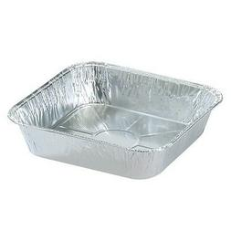 "8x8 Square 8"" Disposable Aluminum Foil Cake Pans 10 50 100 2"