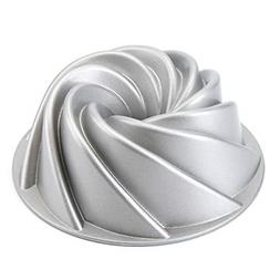 Tosnail 9-Inch Non-Stick Fluted Cake Pan Bundt Cake Pan Spec