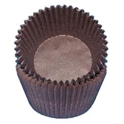 Brown Glassine Cupcake Muffin Baking Cups Liners 500 count