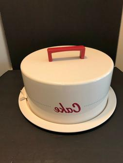 Cake Boss Heavy Metal Cake Carrier for Round Cakes, Pies or
