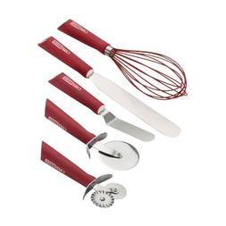 Cake Boss Stainless Steel Tools and Gadgets 5-Piece Baking a