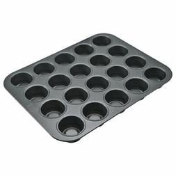 Chicago Metallic Professional 20-Cup Tea Cake Pan, 14-Inch-b