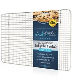 CoolingBake Stainless Steel Wire Cooling and Baking Rack, Ov