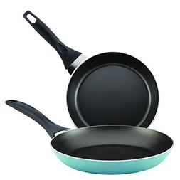 "Farberware 21947 Dishwasher Safe Nonstick Skillet Set, 8""/10"