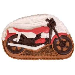 Motorcycle Pantastic Cake Pan oven safe at 375 from CK #9214