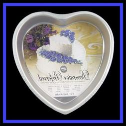 NEW! Wilton **6 INCH Decorator Preferred HEART** Cake Pan wi