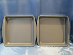 Non-Stick Kitchenware OvenStuff Nonstick Square Cake Pan 2 P
