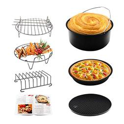 Air Fryer Accessories 6pcs 7 Inches Universally Available fo