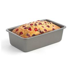 """Good Cook AirPerfect Nonstick Large Loaf Pan, 9 x 5"""", Gray"""