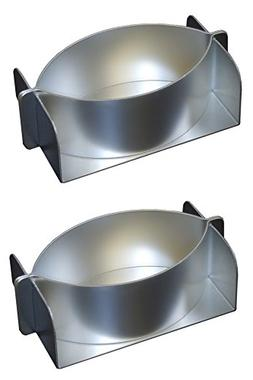 Alan Silverwood Aluminium Set of 2 Little John Pie Mold Tin
