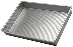 USA Pans 9 x 13 x 2 1/4 Inch Aluminized Steel Rectangular Ca