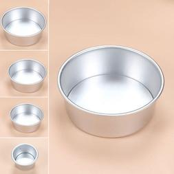 Aluminum Alloy Round Mini Cake Pan Removable Mold DIY Baking