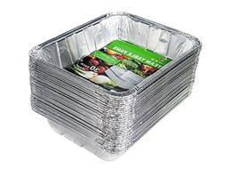 Aluminum Half Size Deep Foil Pan 30 packs 9 x 13 Safe for us