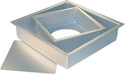 Fat Daddio's Anodized Aluminum Sheet Cheesecake Pan with Rem