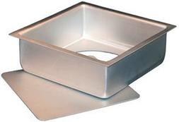 "Fat Daddio's 8"" x 8"" x 3"" Square Cheesecake Pans, Case of 6"