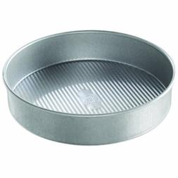 USA Pan Bakeware Aluminized Steel Round Cake Pan, 10-Inch by