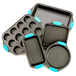 Bakeware Set -Premium Nonstick Baking Pans -Set of 5- Includ