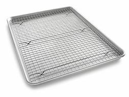 USA Pan Bakeware Extra Large Sheet Baking Pan and Bakeable N