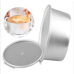 Baking Cake Pan Removable Bottom Round Mold Home Kitchen Bre