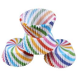 LetGoShop Baking Cups- Disposable Cupcake Liners Muffin Pape