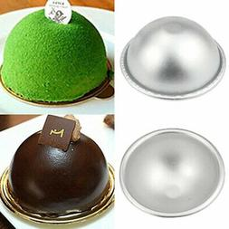 Bath Bomb Baking Mold Cake Pan 3D Sphere Sugar Craft Mould H