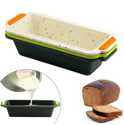 Bread Baking Mold Rectangular Silicone Pan's Toast Bread Cak