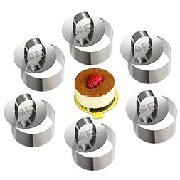 ONEDONE Cake Molds Stainless Steel Cake Rings Cake Mousse Mo