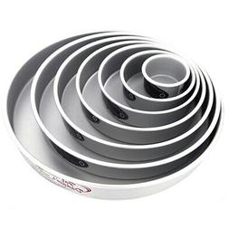 Cake Pan Set of 7, Round 2 Inches Odd  by Fat Daddio's
