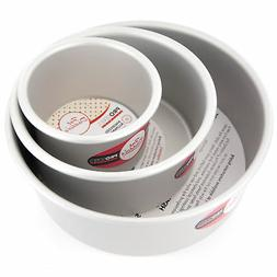 Cake Pan Set of 3, Round 3 Inches  by Fat Daddio's