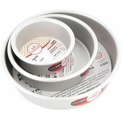 Cake Pan Set of 3, Round 2 Inches  by Fat Daddio's