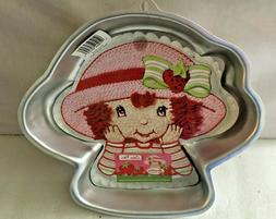Wilton Cake Pan Strawberry Shortcake 2003 2105-7040