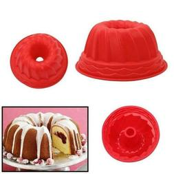 Bakeware Tray Swirl Bundt Ring Mold Pan Mould  Cake Bread Pa