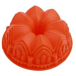 Rurah Castle Cake Baking Molds Bundt Pans Tray Bread Loaf Si