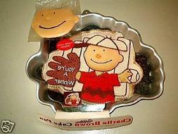 Wilton Charlie Brown with Baseball Glove or Football Player