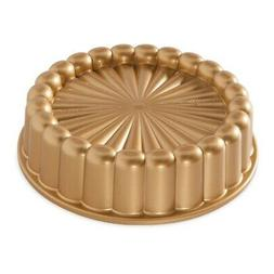Nordic Ware 83577 Charlotte Cake Pan One Size Gold