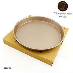 1 piece Chef Made 9 Inch Pizza Plate Baking Pan Dish Tray Ti
